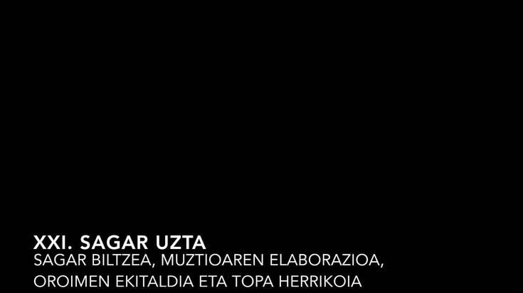 XXI. Sagar Uzta