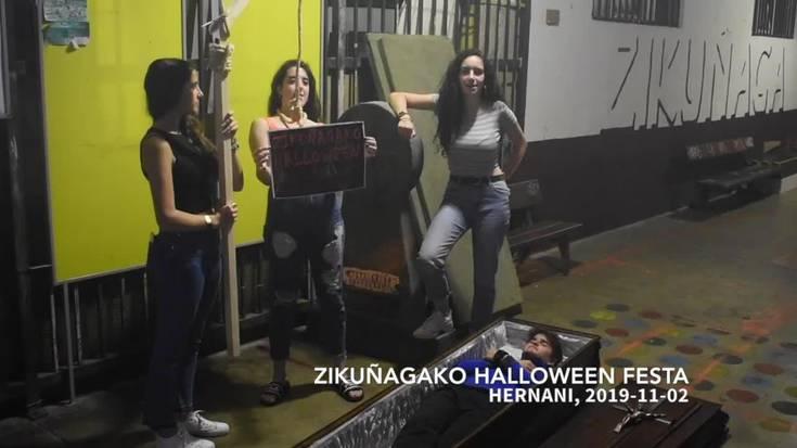 Zikuñagako Halloween festa