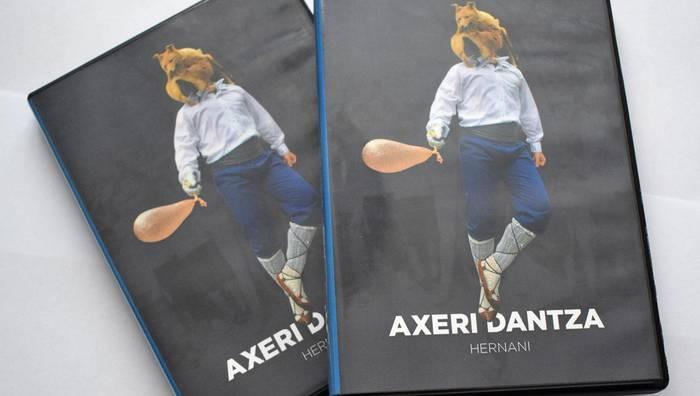 Axeri Dantzari buruzko DVD berritua eta koadroa enkantean, bihar