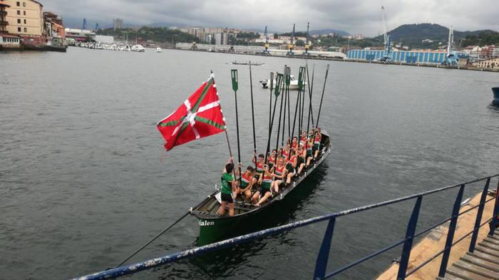 Donostiarrak regata gaur,  A Coruñan