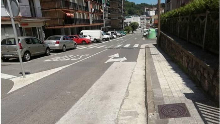 Erroilaburu-Añua bidearekin, gaur hasiko du Hernaniko Udalak aurtengo asfaltatze-plana