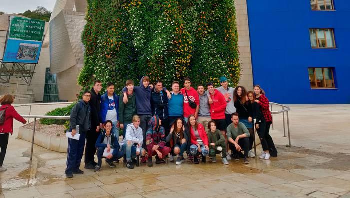 30tik gora atzerritar bisitan, Erasmus + proiektuaren bueltan
