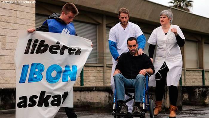 Ibon Fernandez Iradi presoa aske ez uztea erabaki du Frantziako justiziak