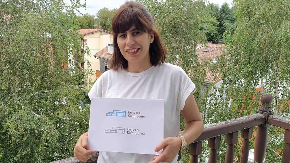 Erribera kulturguneak badu logoa, Noelia Lozanok egina