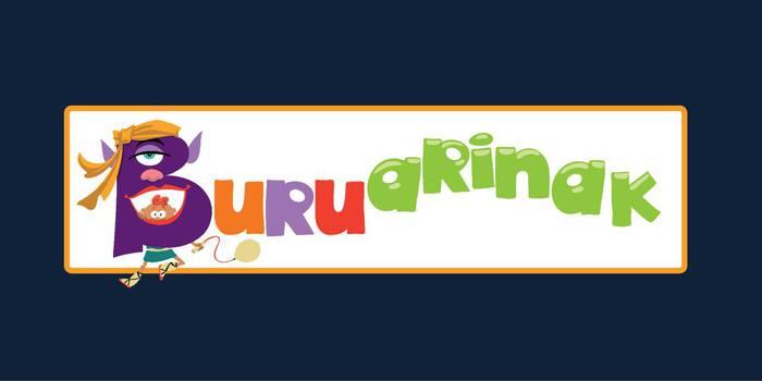 Buruarinak logotipoa