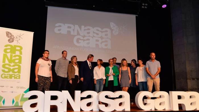 'Arnasa Gara' euskerarentzat, Goizuetako herrian ere