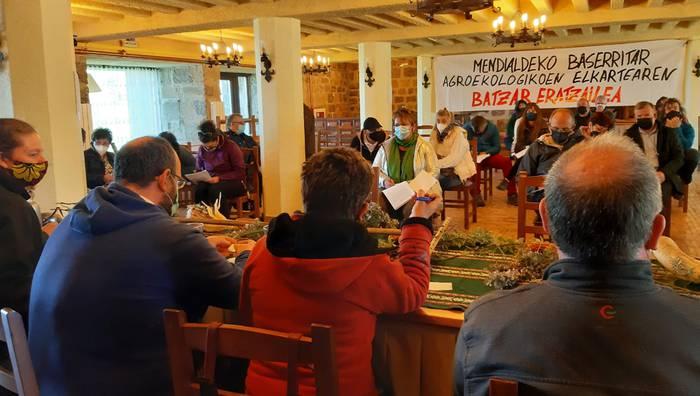 Nafarroako Mendialdeko baserritar agroekologikoen elkartea sortu dute, Goizueta eta Arano barne izanik