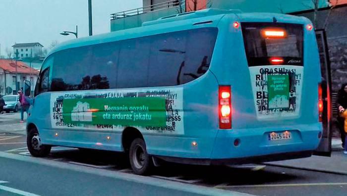 Sagardotegietarako autobusa, azkenean martxan